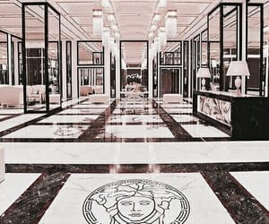 Versace, luxury, and interior image