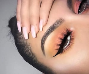 eyes, hair, and makeup image