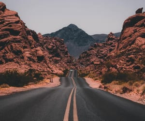 travel, road, and landscape image