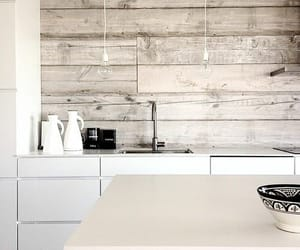 white, wood, and home image