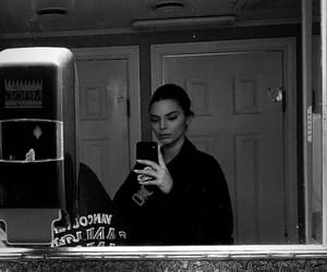 mirror, kendall jenner, and selfie image