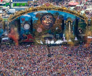 Tomorrowland, festival, and party image