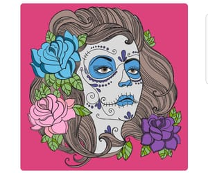 catrina, blue, and color image