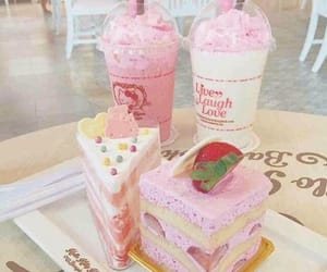 cafe, cake, and dessert image