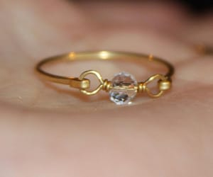 etsy, body jewelry, and wire wrapped ring image