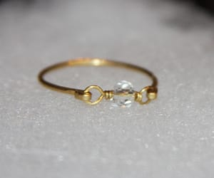 fashion, jewelry, and gold ring image