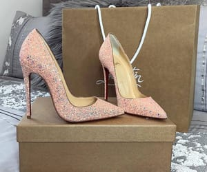 fashion, shoes, and glam image