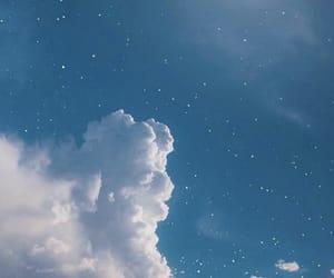 sky, stars, and blue image