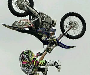 motocross, motorbike, and love image