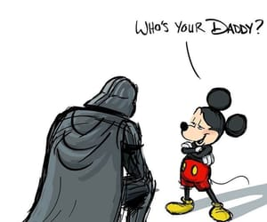 disney, star wars, and mickey mouse image