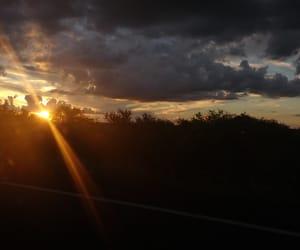 atardecer, puesta de sol, and clouds image