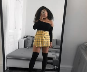 brazilian girl, curly hair, and goals image