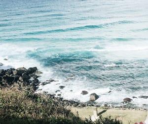 australia, beach, and ocean image