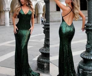 dress, fashion, and formal dress image