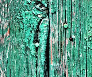 cracked, green, and mint green image