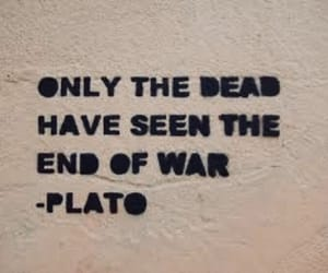 plato, quotes, and war image