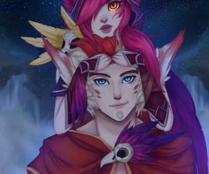 league of legends, the rebel, and rakan image