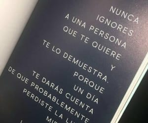black and white, book, and frases image