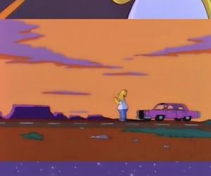 Homero, sad, and simpsons image