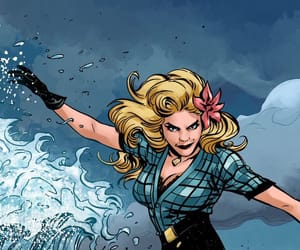 Black Canary, dc comics, and bomshells image
