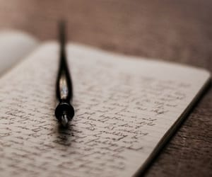 book, pen, and writing image