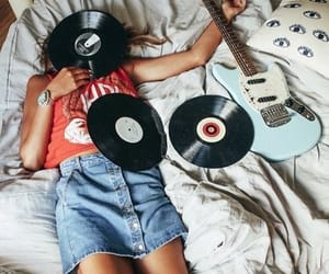 music, girl, and grunge image