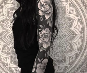 alternative, arm, and tattoo image
