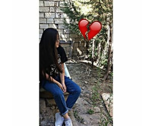 girl, حديقه, and كشخه image