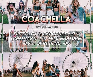 coachella, feed, and instagram image
