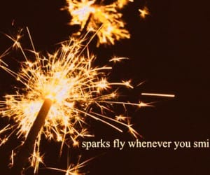 sparks, smile, and quotes image