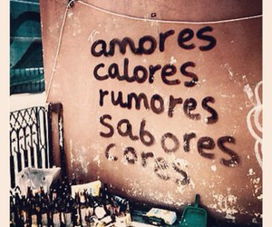 amores and text image