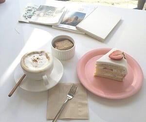beverage, cafe, and cake image