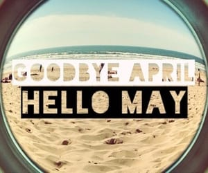 may, hello, and april image