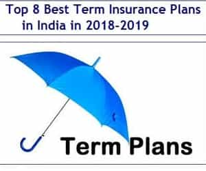 insurance plans and term insurance plans image