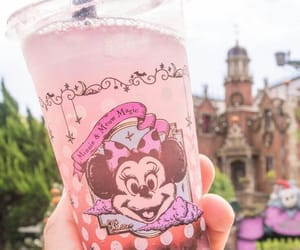 drink, bubble tea, and disney image