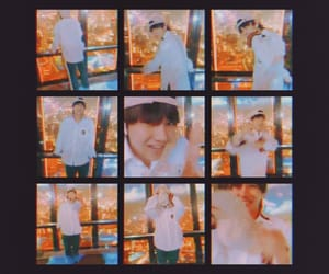 k-pop, v, and taehyung image