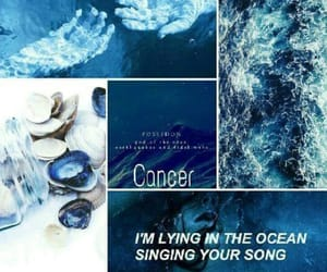 aesthetic, blue, and cancer image