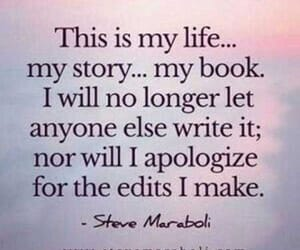 apologize, write, and book image