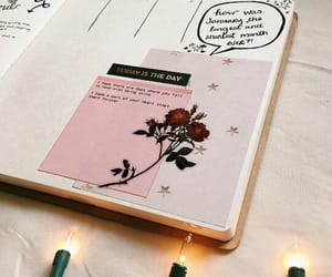 bullet journal, art, and bujo image