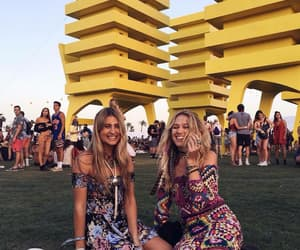 coachella, fashion, and girls image