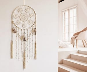 bedroom decor, fiber art, and bedroom ideas image