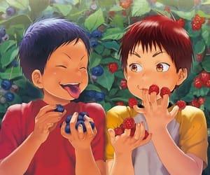 aomine daiki, kagami taiga, and kuroko no basket image