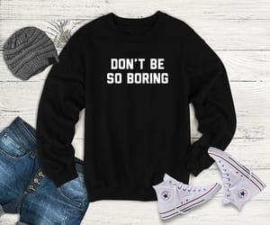 boring, etsy, and men sweatshirt image