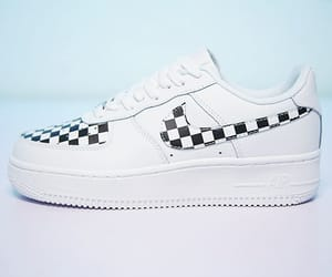 Nike Air Force 1 Low Checkboard White Sneakers