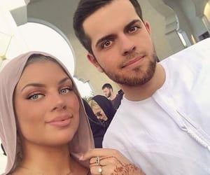 abu dhabi, amour, and couple image