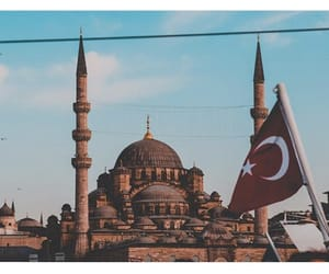 home, mosque, and turkey image