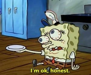spongebob, funny, and honest image
