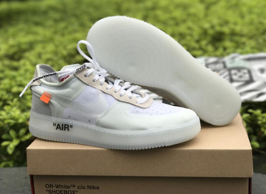 Mens OFF White X Nike Air Force 1 Low on We Heart It