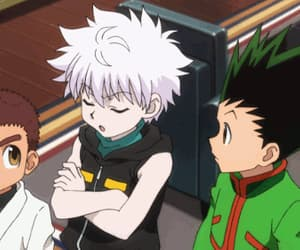anime, kawaii, and killua image