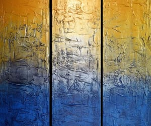 abstract, wall art, and believe image